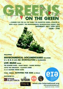 Greens on the Green - Poster